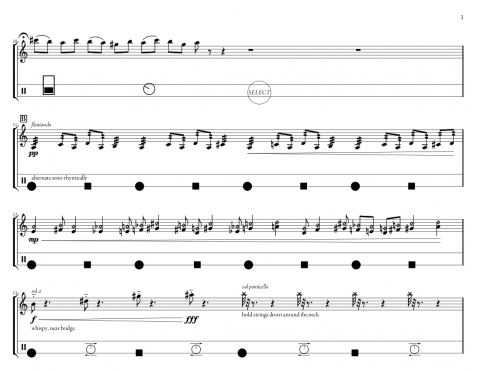 Page 3 from the score