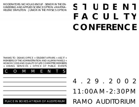 SFC Program page 1