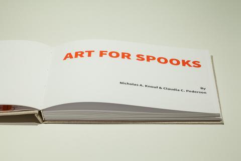 Art for Spooks book close-up