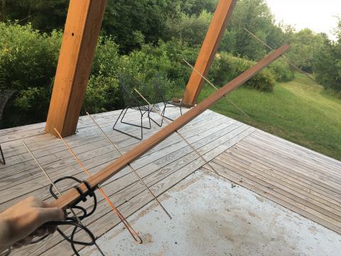 section custom yagi antenna
